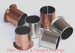 Symmco SF-2024-16 Plain Sleeve & Flanged Bearings