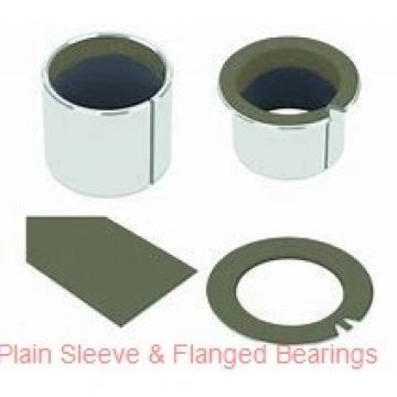 Oilite AA628-10 Plain Sleeve & Flanged Bearings