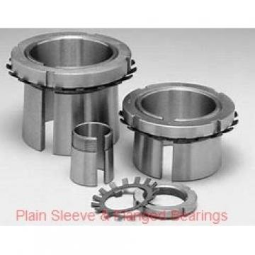 Oilite AA401-25B Plain Sleeve & Flanged Bearings